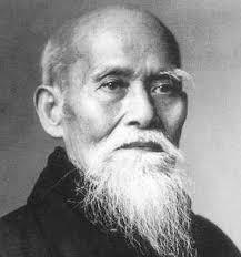 Morihei Ueshiba.